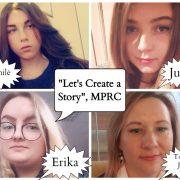 """Respublikinio internetinio projekto ,,Let's Create a Story"""" finalas"""