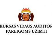 Konkursas vidaus auditoriaus pareigoms užimti
