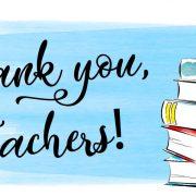 Mokiniai dėkoja mokytojams už nuoširdų darbą karantino metu.