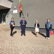 Marijampolės PRC Kudirkos Naumiesčio skyriuje lankėsi  Seimo narė Irena Haase