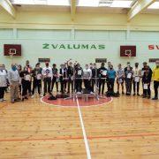 Atviros Šakių rajono moksleivių štangos spaudimo varžybos Kudirkos Naumiestyje