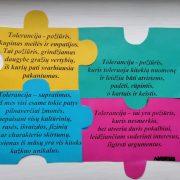 """Minint tarptautinę Tolerancijos dieną – virtuali paroda ,,TOLERANCIJOS DĖLIONĖ"""""""
