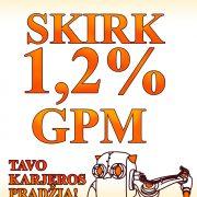 Skirkite savo 1,2% GPM dalį Marijampolės PRC