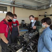 Pažangiausių automobilio maitinimo sistemų diagnostikos praktinis mokymas